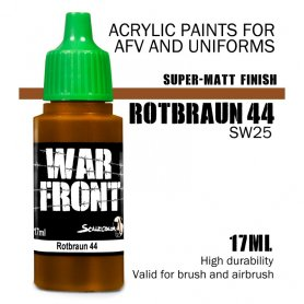 Scale 75 ScaleColor WARFRONT SW-25 Rotbraun 44 / 17ml