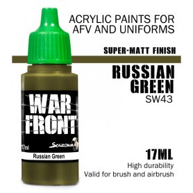 Scale 75 ScaleColor WARFRONT SW-43 Russian Green / 17ml