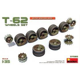 Mini Art 37060 T-62 wheels set