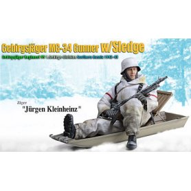 Dragon 70476 1/6 Gebirgsjager Gunner w/Sledge