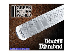 Green Stuff World ROLLING PIN / wałek do podstawek DOUBLE DIAMOND