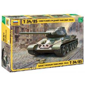 Zvezda3687 Soviet Medium Tank T-34/85 1/35