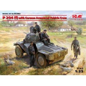 ICM 1:35 P 204(f) WITH GERMAN ARMOURED VEHICLE CREW