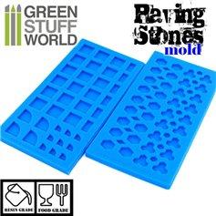 Green Stuff World Paving Stone Silicone Stamp
