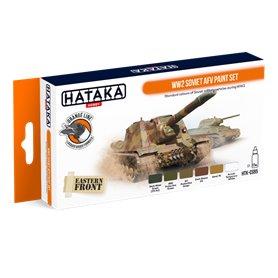 Hataka CS95 ORANGE-LINE Zestaw farb WWII Soviet AFV