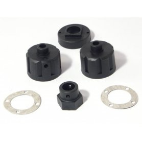 Obudowy dyf. DIFF CASE 2 SETS/CLUTCH HUB 1 SET
