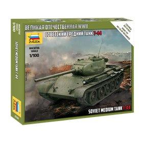 Zvezda 6238 T-44 Soviet Tank 1/100