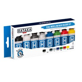 Hataka BS100 Scale modeling basic colours set