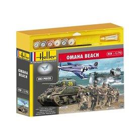 Heller 53012 Omaha Beach -Sherman,P51,LCVP,US fig.
