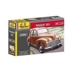 Heller 1:43 Peugeot 203 - STARTER SET - w/paints