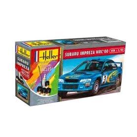 Heller 56194 Starter Set - Subaru Impreza WRC 2000