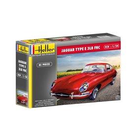 Heller 56709 Starter Set - Jaguar Type E 3L8 FHC