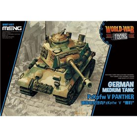 Meng WWT-007 PzKpfw Panther - cartoon model