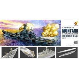 Very Fire VR70901 Navy Battleship Montana BB-67