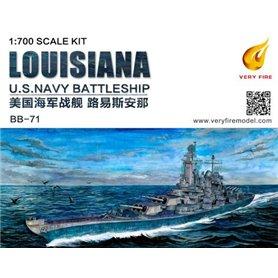 Very Fire 1:700 USS Louisiana BB-71