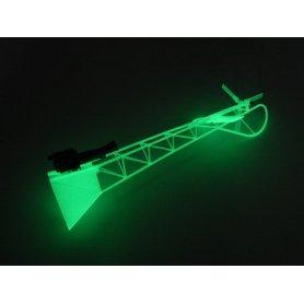 Xtreme Elastyczny ogon z atrapą silnika fluorescencyjny - Lama V