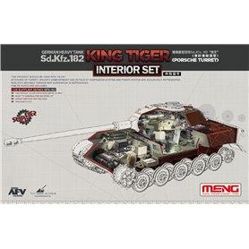 Meng SPS-062 King Tiger (Porsche Turret) Interior