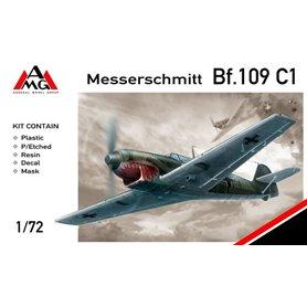 AMG 1:72 Messerschmitt Bf-109 C-1