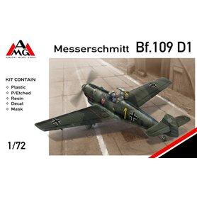 AMG 1:72 Messerschmitt Bf-109 D-1