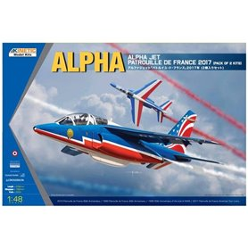 Kinetic 48064 Alpha Jet Patrouille de 2017 -1 kit