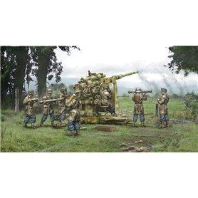 Italeri 1:56 8,8 cm FLAK 37 with crew