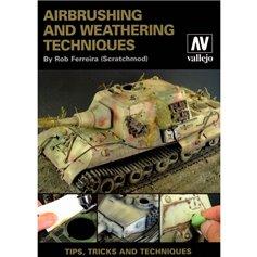 Vallejo 75002 Książka Airbrush & Weathering Tech.