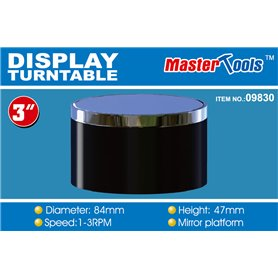 Trumpeter MASTER-TOOLS 09830 Turntable 84mm x 47 mm
