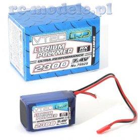 Pakiet LRP LiPol 7,4V 2300mAh