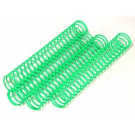 SHOCK SPRING 14.4 X 118 X 1.2MM X 23.5 (GREEN/4PCS)