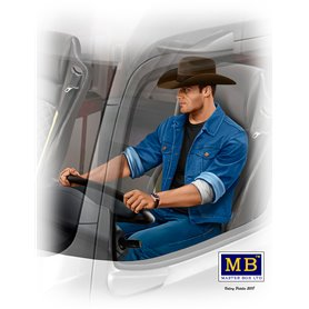 MB 1:24 Mike Beach Boy Barrington / TRUCKERS SERIES