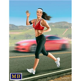 MB 24050 Jogging some miles. Tyra