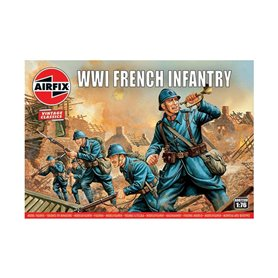 Airfix 00728V Vintage Classics WWI French Inf.