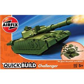 Airfix 6022 Quickbuild Challenger Tank Green