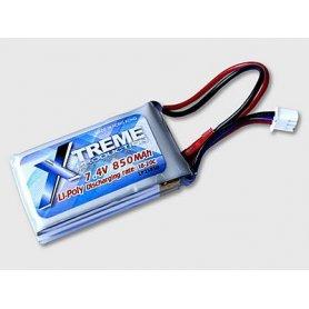 Xtreme Akumulator Li-Po 11.1V 850mAh, 18C-20C