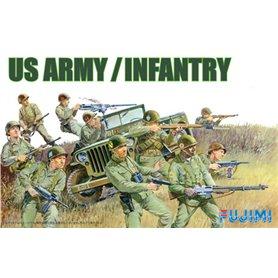 Fujimi 761213 1/76 WA-27 U.S. Army Infantry Set