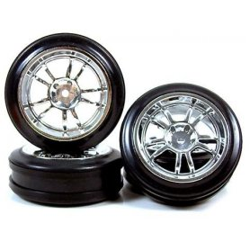 Felgi z oponami Yeah Racing 24mm 5-Spoke Drift