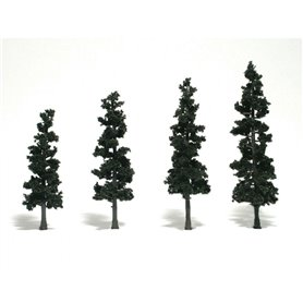 "Woodland WTR1561 4-6"" Rm Real Pine 4/Pk"