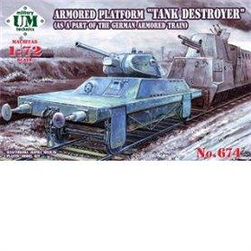 Ummt 674 Armored platform