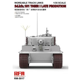 RFM-5017 Tiger I Late Production Workable Tracks