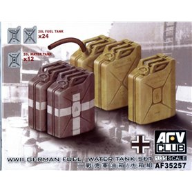 AFV Club AF35257 German WWII 20L Jerrycans Set