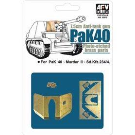 AFV Club AG35012 PAK40 Etching Parts