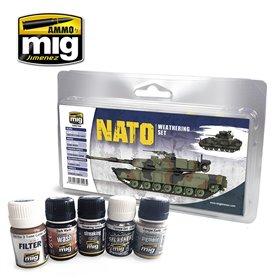 Ammo of Mig NATO Weathering Set