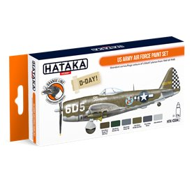 Hataka CS04.2 US Army Air Force paint set