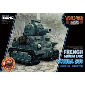 Meng WORLD WAR TOONS Somua S35