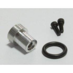 Piasta 3mm gwintowana z gumowym o-ringiem