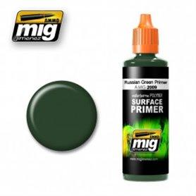 Ammo of MIG Podkład akrylowy Ciemnozielony RUSSIAN GREEN / 60ml