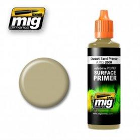 Ammo of MIG Podkład akrylowy Piaskowy DESERT SAND PRIMER / 60ml