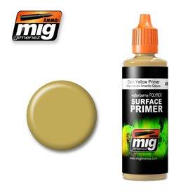 Ammo of MIG Podkład akrylowy Ciemnożółty DARK GREEN / 60ml