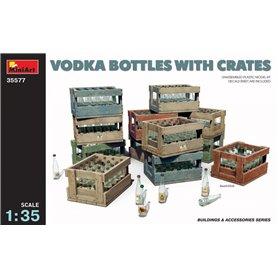 Mini Art 35577 Vodka Bottles with crates