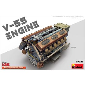 Mini Art 37025 V-55 engine